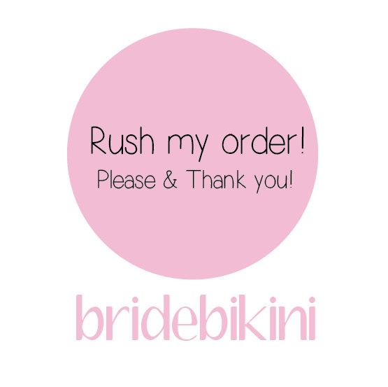 Свадьба - Bride Bikini Rush Service.