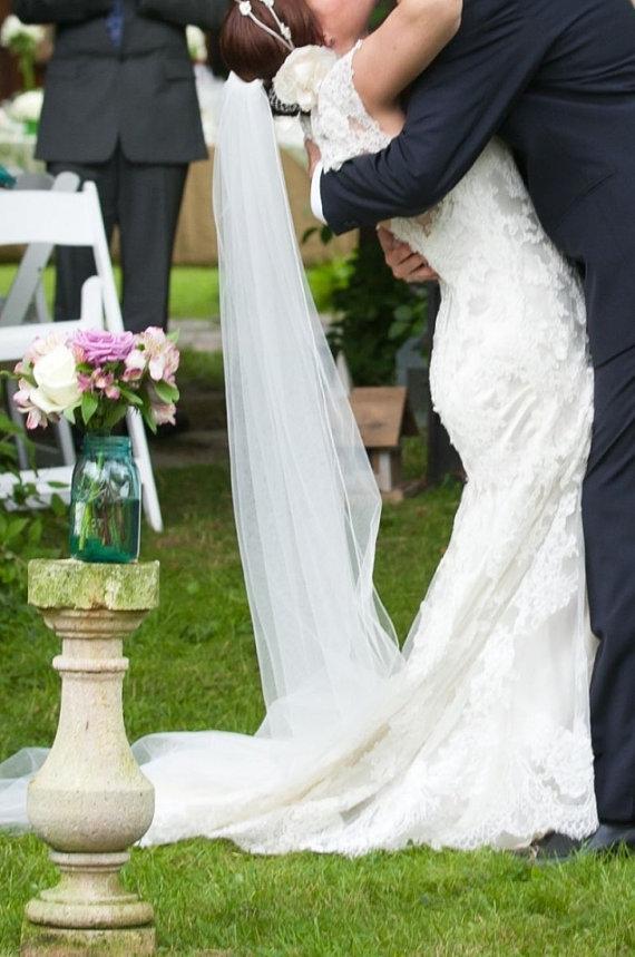 Wedding - Soft Pencil Edge Veil