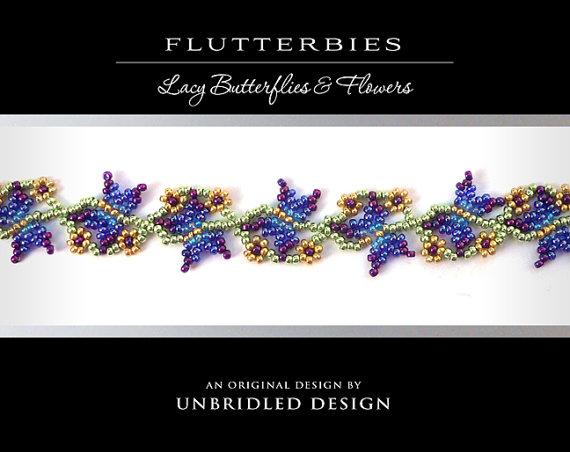 Wedding - Flutterbies PDF Beading Tutorial