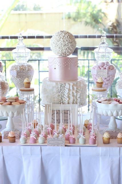 Mariage - Dessert Tables & Sweet Treats