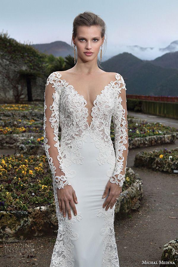 Mariage - Michal Medina Bridal Spring 2016 Couture Wedding Dresses