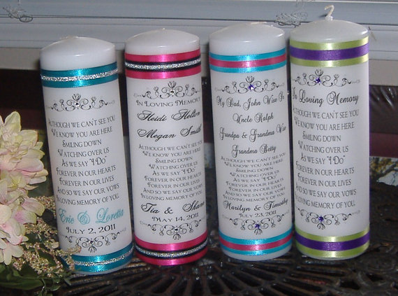 Group Unity Candle For Joining Families I Do Wedding Ceremony