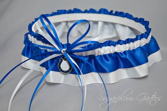 Свадьба - Indianapolis Colts Wedding Garter