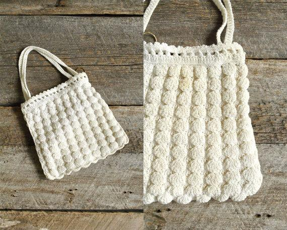 زفاف - Wedding Clutch  //  Crochet Purse  //  THE LUCY