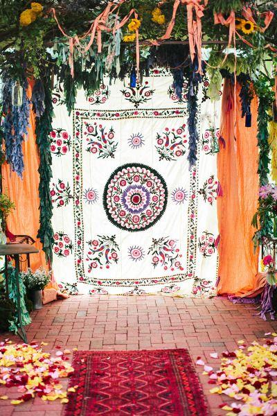 Свадьба - Whimsical Boho Chic Wedding In North Carolina