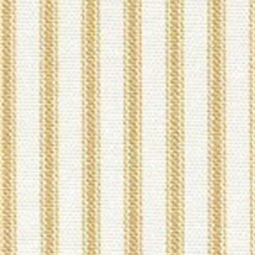 "Mariage - SAMPLE SALE RUNNER  Yellow Ticking Table Runner 22""  Ticking Fabric 100% cotton  Wedding Bridal Home Decor"