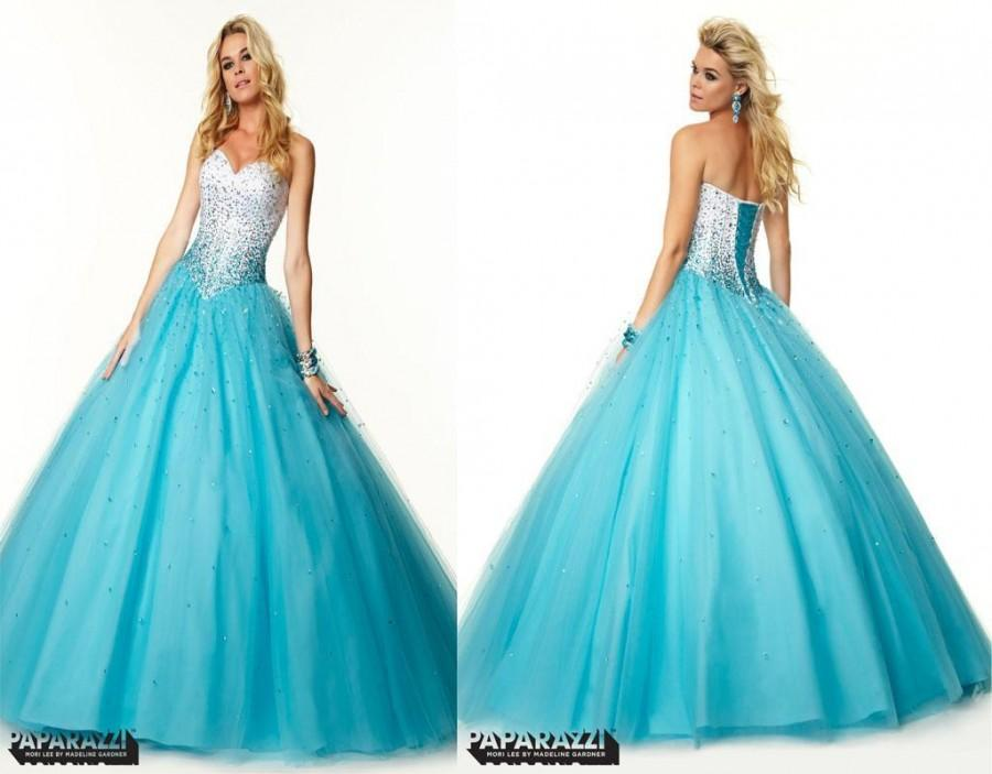 2015 New Arrival Evening Pageant Dresses Pretty A Line Sweetheart ...