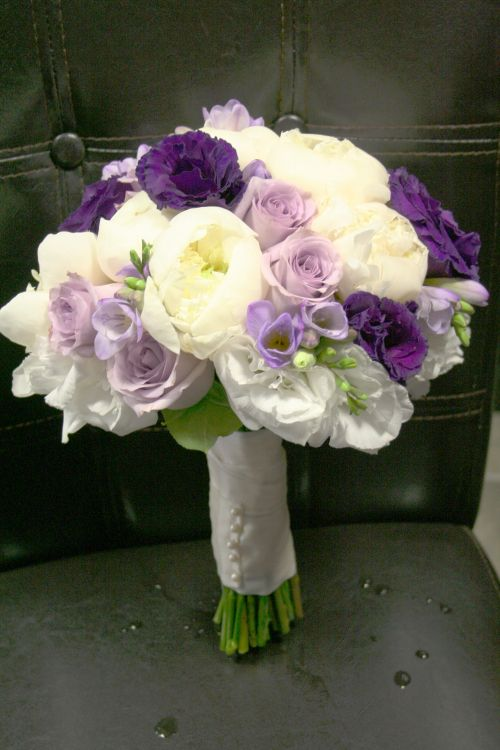 Mariage - How Popular Is Purple This Year?