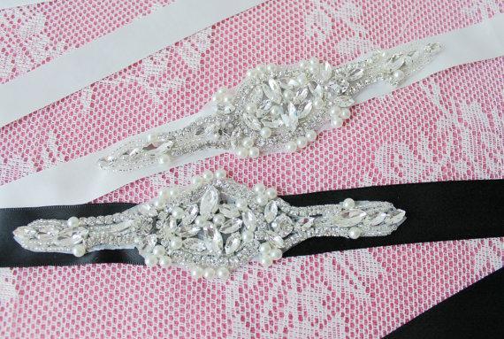 Mariage - Bridal Rhinestone Belt,Bridal Rhinestone Sash,Wedding Rhinestone Belt,Wedding Accessories,Rhinestone Bridal Accessories