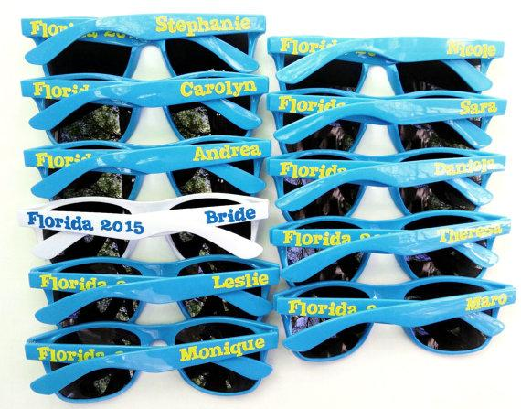 Personalized Sunglasses For Wedding Party, Bachelor Party ...