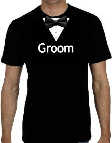Свадьба - Groom T-Shirt - Groomsman T-Shirts -  Groomsmen T-Shirts - Wedding T-Shirts - Bride Clothing