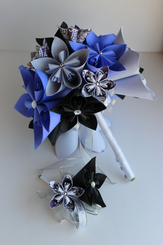 Bouquet and boutonierre set kusudama paper flowers 2309291 weddbook bouquet and boutonierre set kusudama paper flowers mightylinksfo