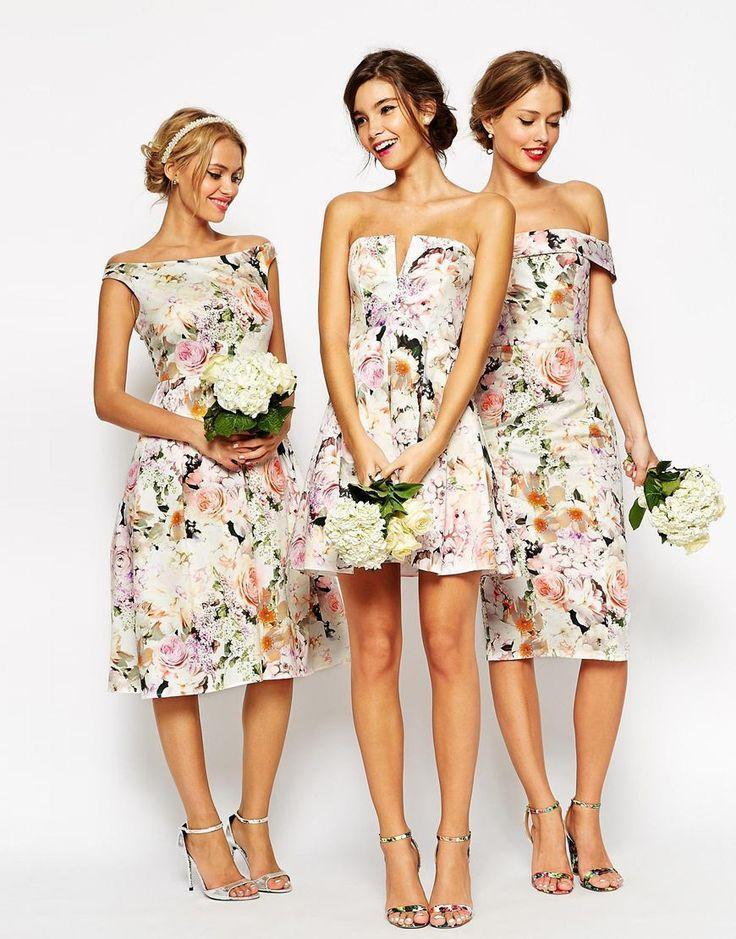 Hochzeit - Bridesmaid Dresses That Won't Break The Bank!