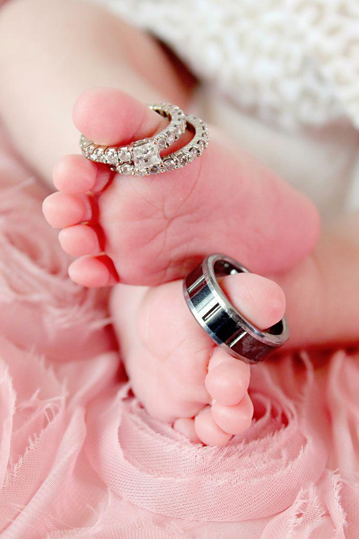 Wedding - Newborn Photos