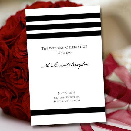 Black and white wedding program template goalblockety black and white wedding program template black and white wedding program template lace wedding program template antique lace diy solutioingenieria Image collections