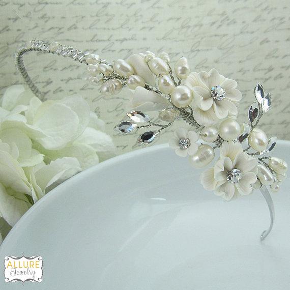 Свадьба - Bridal tiara headpiece, wedding tiara, wedding headpiece, rhinestone tiara, crystal tiara, crystal bridal accessories,wedding hair accessory