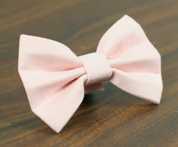 Mariage - Cat or Dog Bow Tie - Soft Pink