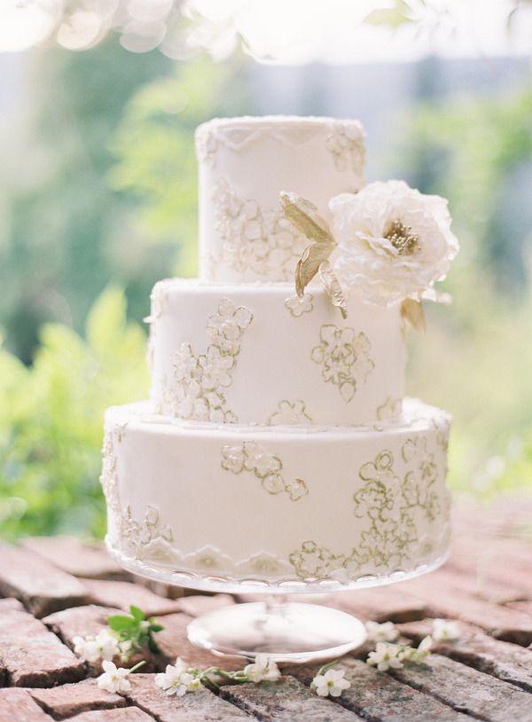 Свадьба - Wedding Cakes Almost Too Pretty To Eat