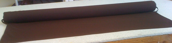Brown Extra Wide Custom Made Aisle Runner 50 Feet Long 59 Inches