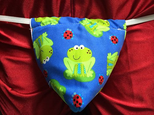 Свадьба - Mens Cute FROG G-String Thong Male Wedding Lingerie Underwear