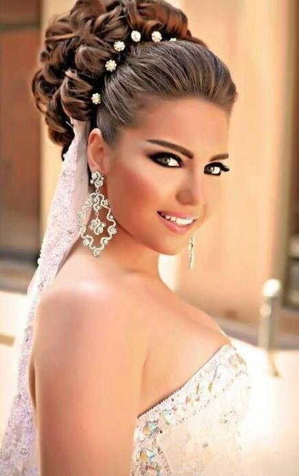 Düğün - 20 Chic Wedding Hair Updos For Elegant Brides