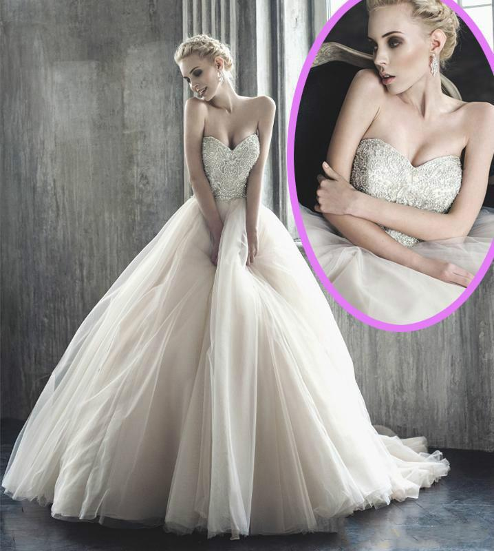 2015 ball gown wedding dresses blush sweetheart heavy for Cheap blush wedding dresses