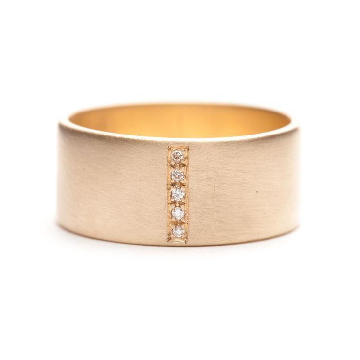 زفاف - Pavé Row Ring