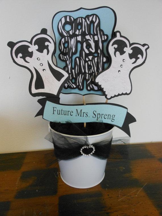 Свадьба - Wedding Shower-Lingerie Future Mrs. Centerpiece for Bridal Shower