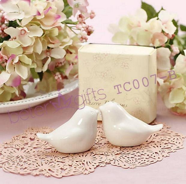 Boda - Free Shipping Cherry Blossom birds salt and pepper shakers Wedding Favors TC007 from Reliable graduation gifts flowers suppliers on Shanghai Beter Gifts Co., Ltd.
