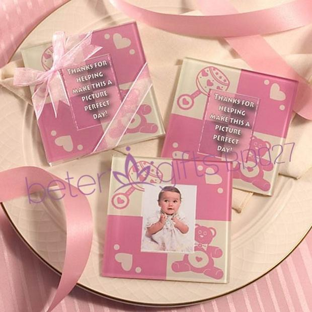 Hochzeit - Pink Baby Teddy Bear Glass Coasters BD027 from Reliable coaster mat suppliers on Shanghai Beter Gifts Co., Ltd.