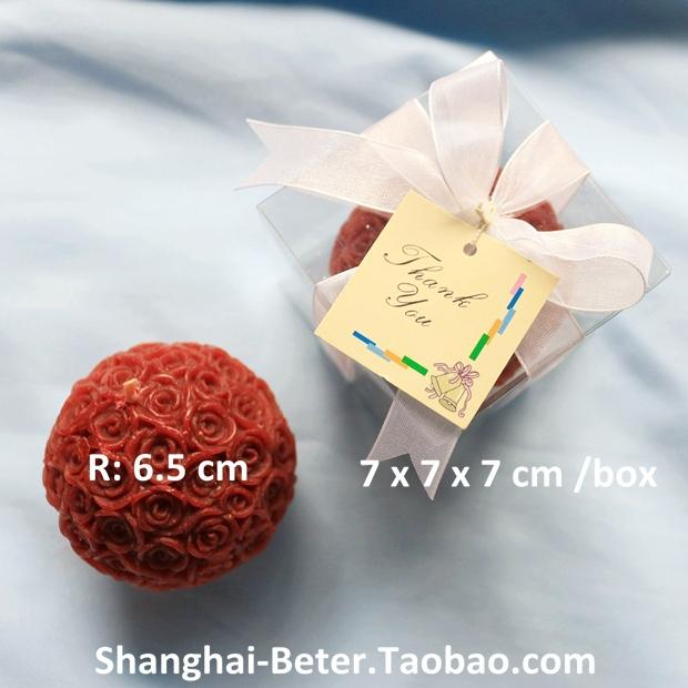 Wedding - Wholesale Rose Candles 100box Holiday Supplies Favour LZ005/A Home Decor from Reliable Topiary Favor Boxes 120pcs TH014 Wedding Decoration@http://shanghai-beter.taobao.com suppliers on Shanghai Beter Gifts Co., Ltd.