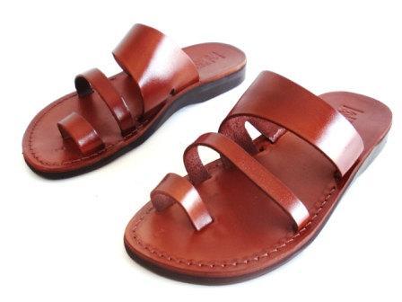 Wedding - SALE ! New Leather Sandals TRIPLE Women's Shoes Thongs Flip Flops Flats Slides Slippers Biblical Bridal Wedding Colored Footwear Designer