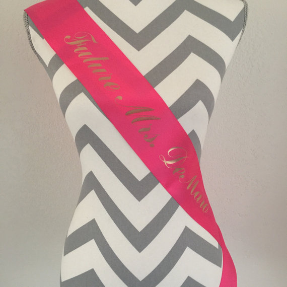 Mariage - Bachelorette Sash-Wedding Sash-Bride To Be Sash