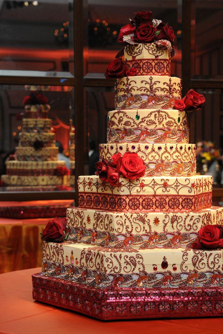 Indian Wedding Inspiration Dreamy Wedding Cakes Indian Wedding