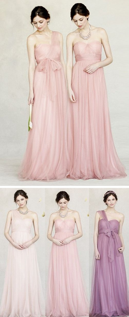 Romantic and ethereal bridesmaid dresses you 39 ll love for Romantic ethereal wedding dresses