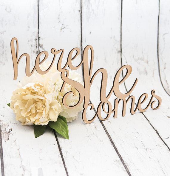 زفاف - Wedding Sign for Ring Bearer or Flower Girl Sign, Rustic Wooden Wedding Decor for Ceremony Aisle Sign (Item - LHS100)