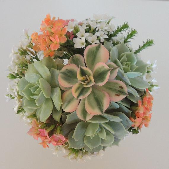 Hochzeit - Anaiah's Succulent wedding bouquets, Succulent bridal bouquet, Bridal bouquet