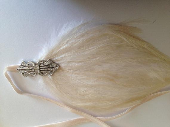 Mariage - 1920s GATSBY Weddings, hair jewelry, accessories, Swarovski headpiece Hair Accessories for 1920s Dresses