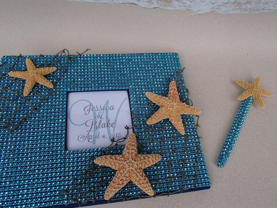 Under The Sea Guest Book Set Wedding Shower Birthday Anniversary