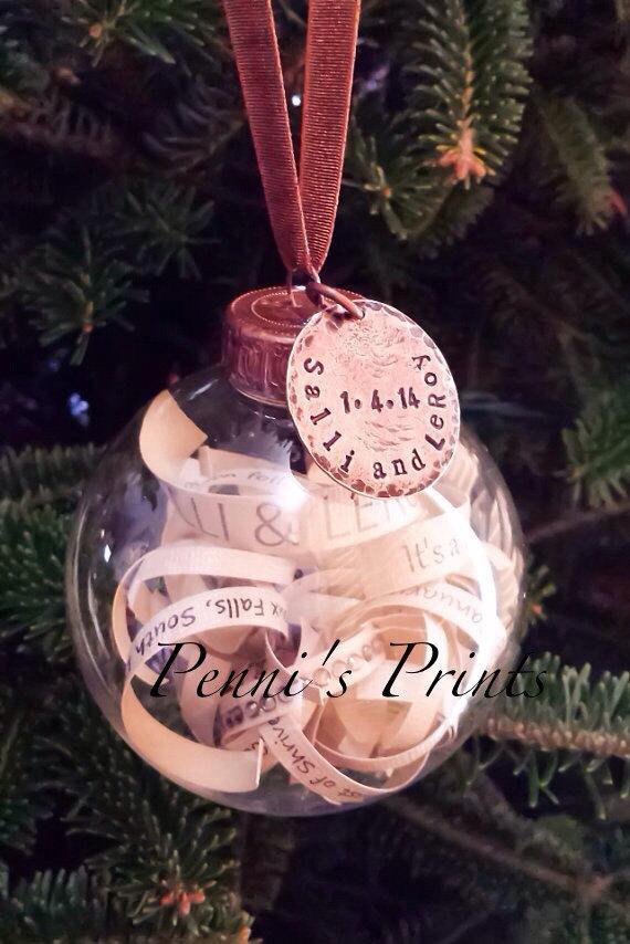 زفاف - Wedding invitation ornament. Wedding date. Wedding gift. Engagement gift., birth announcement, graduation gift