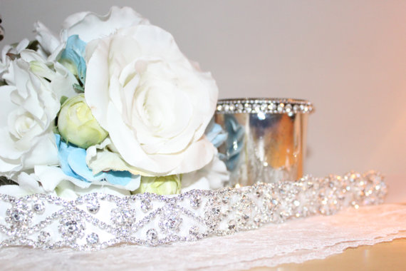 Mariage - Bridal Rhinestone Wedding Sash Belt