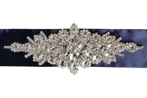 Boda - Bridal Rhinestone Sash