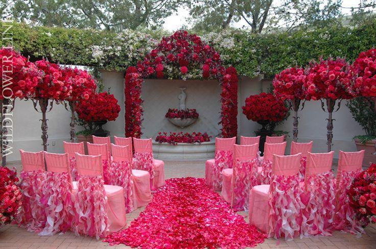 Hochzeit - Redish Red