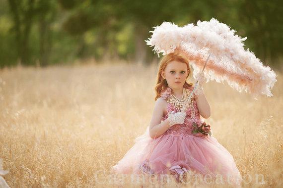 Wedding - Couture Fairy Flower Girl Dress