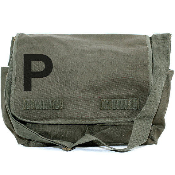 Свадьба - Messenger Bag, Monogram Bag, Personalized Bag, Initial Bag, Crossbody Canvas Bag, Personalized Groomsmen Gift, Men & Women's Messenger Bag