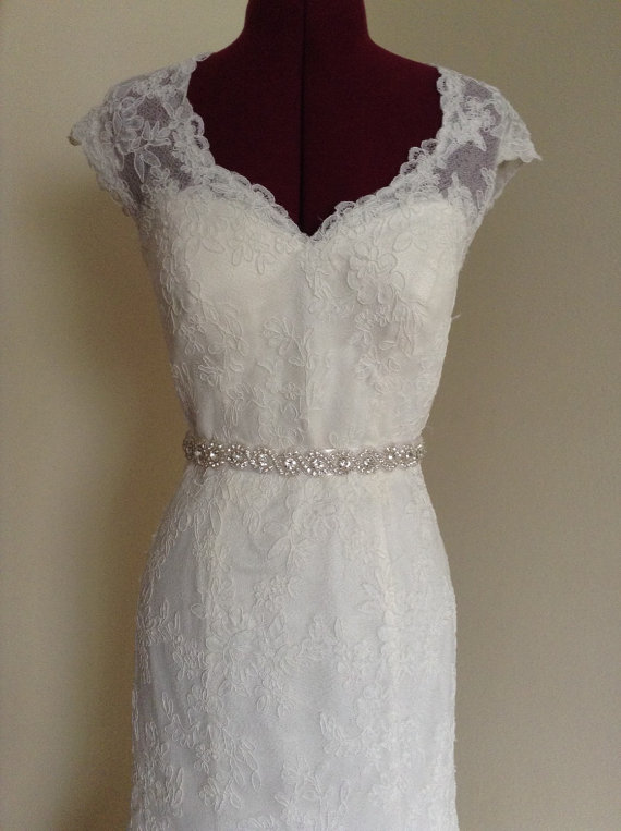Bridal Sash Bridal Belt Wedding Dress Sash Rhinestone
