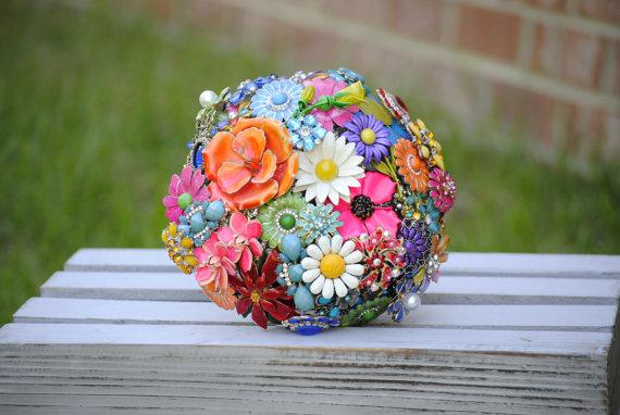 Mariage - Brooch Bouquet