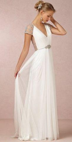 Свадьба - V-Neck Wedding Dresses