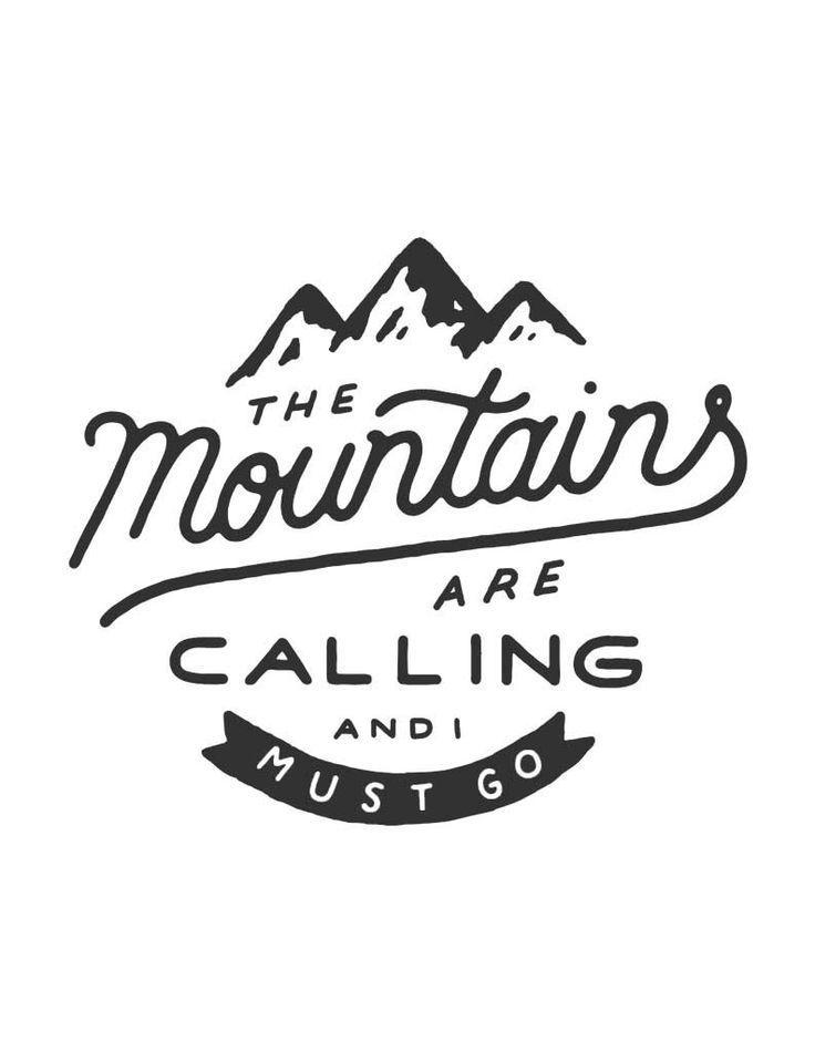 Mariage - The Mountains Are Calling Flowy V Neck