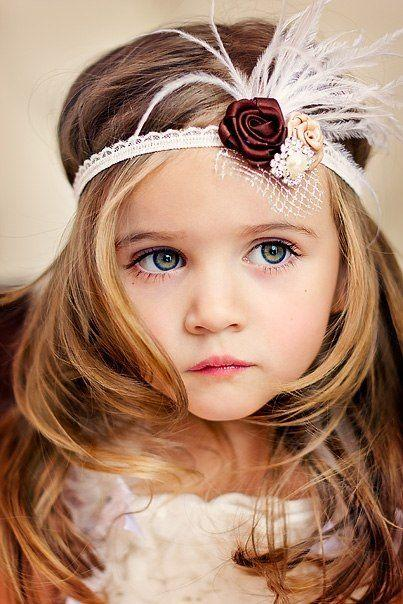 30 Cute Summer Outfits For Teen Girls: 30 Super Cute Little Girl Hairstyles For Wedding #2314511